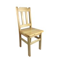 Krzesło drewniane sosnowe TEDY stołówka jadalnia bar kuchnia jadalnia.png