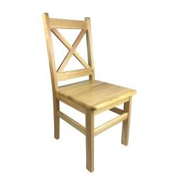 Krzesło sosnowe ALEX